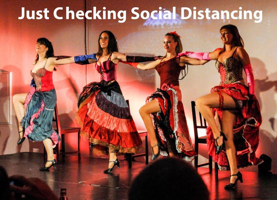 Just checking social distancing