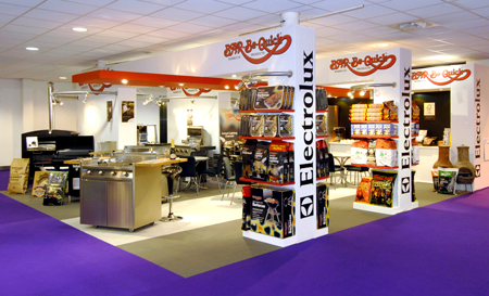Stand at Exhibition, Telford, U.K.