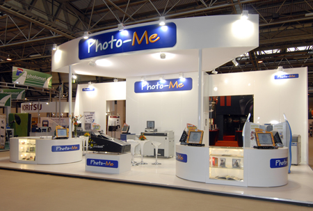 Photo-Me stand at Focus Exhibition