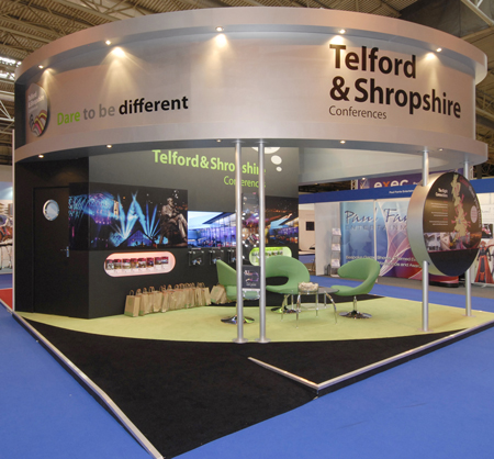 Telford stand at Event Show