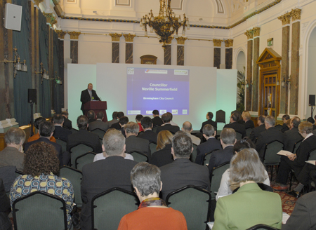 Conference in Birmingham Council House