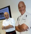 Celebrity Chef, Aldo Zilli.