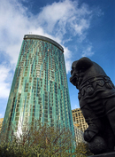 The new Beetham Tower in Birmingham
