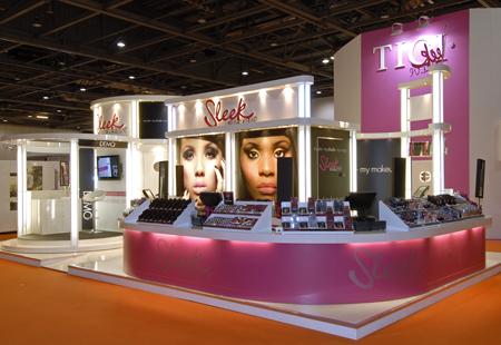Colin stand at Beauty show