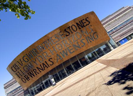 Millennium centre,Cardiff,Wales,U.K.