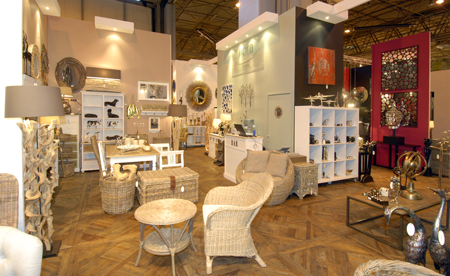Libra stand at Interiors Show