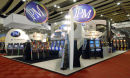 JPM stand at IGE, Earl`s Court, London
