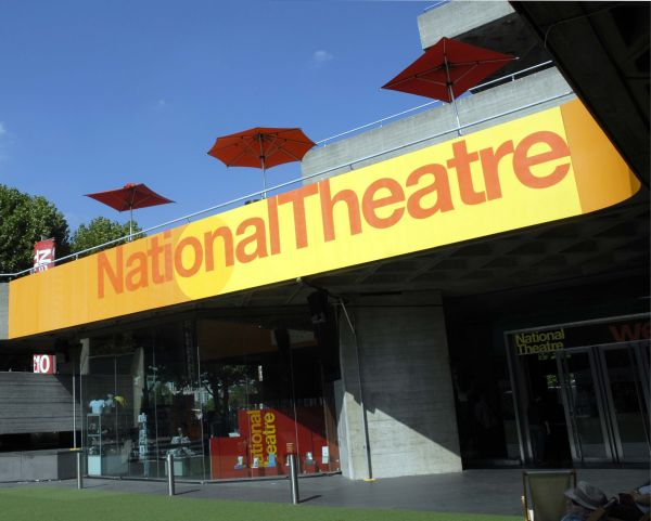 Exterior of National Theatre, London