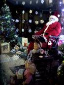 Christmas window display