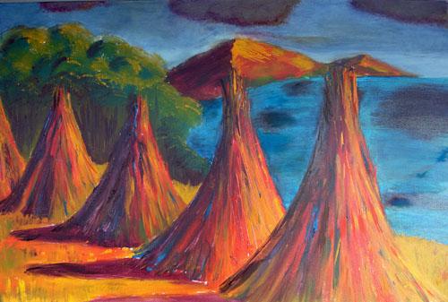 Titicaca Haystacks IV