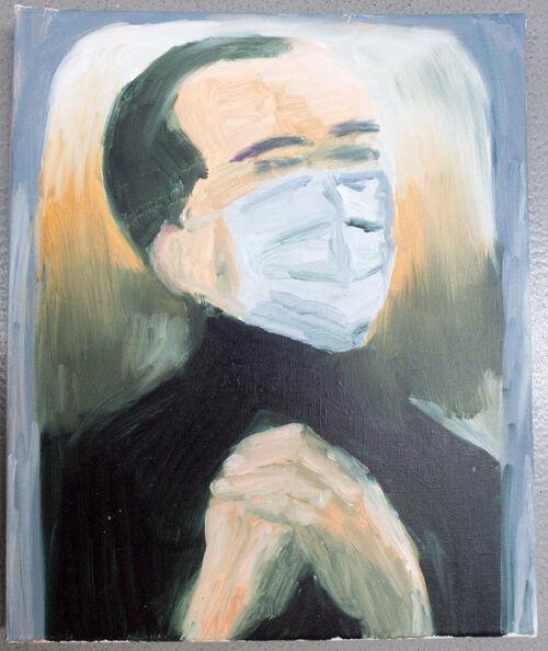The Face-mask (unfinished stufy)