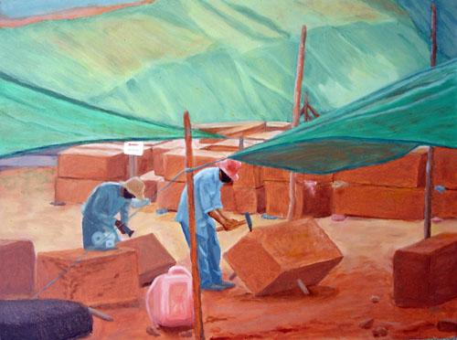 Repairing Angkor