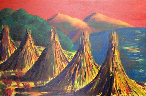 Titicaca Haystacks V