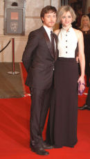 James McAvoy &his wife.