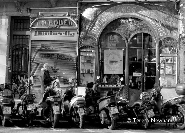 Motorbikes, Barcelona