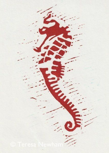 Seahorse Red