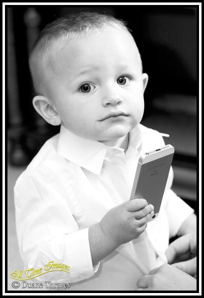 Wedding page boy