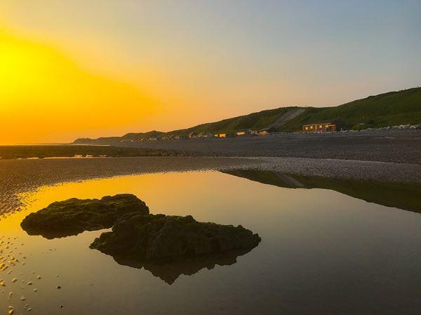 braystone beach sunset