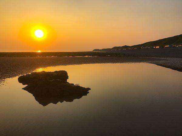 braystone beach sunset 2