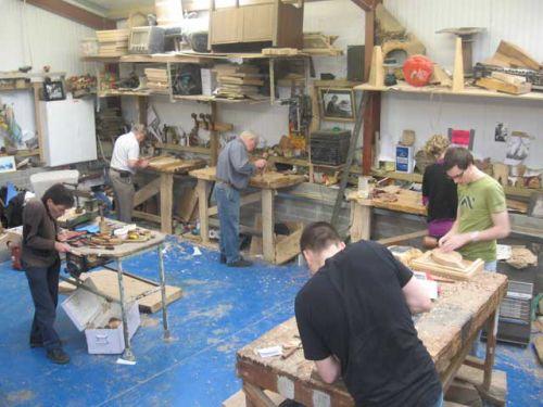 weekend workshop in progress