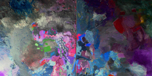 Diptych (Two for Scooby)