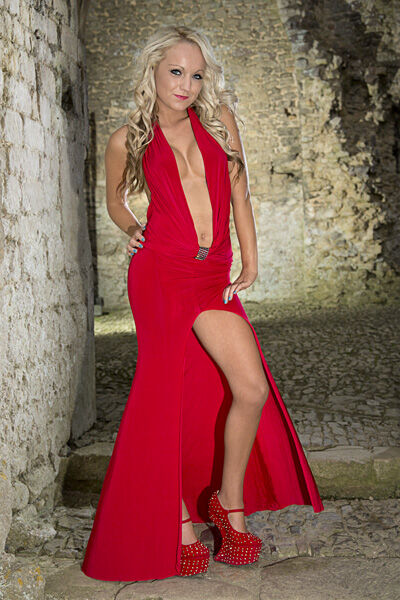 Abbey In Red