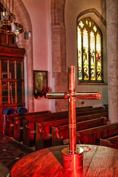 Bastion Cross in RWB Church