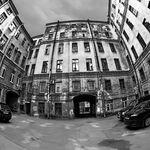 Courtyard, St Petersburg