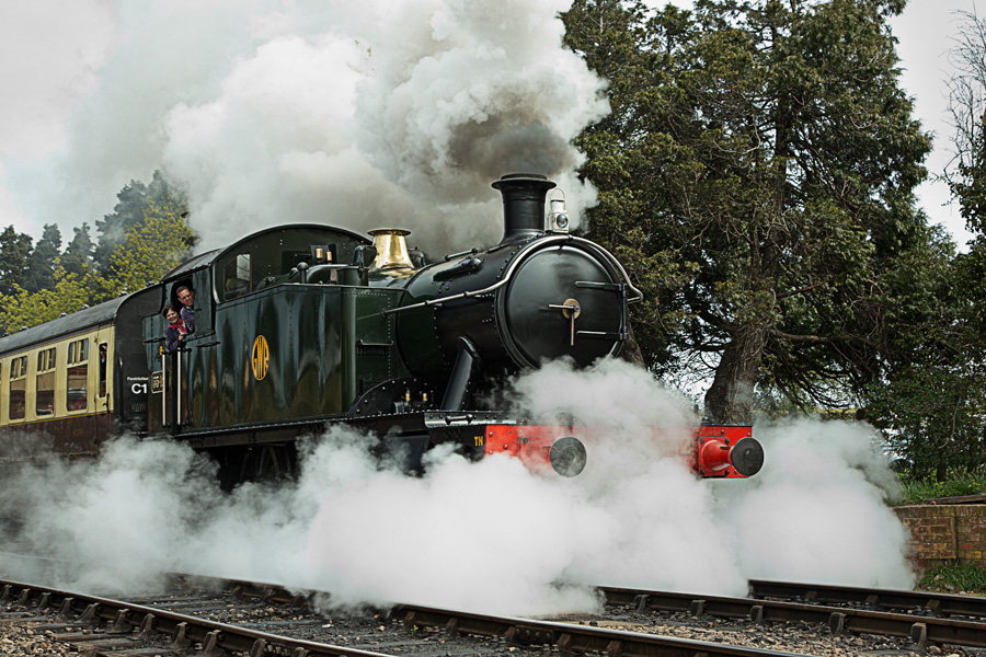 GWSR 5542 In Full Steam
