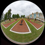 Gardens At Catherine Palace, Russia