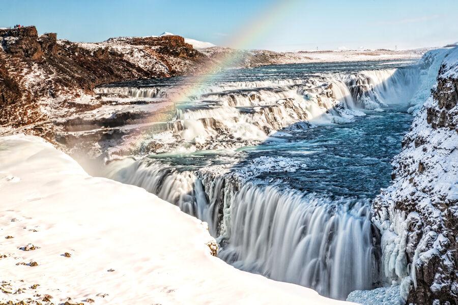 Gullfoss Rainbow