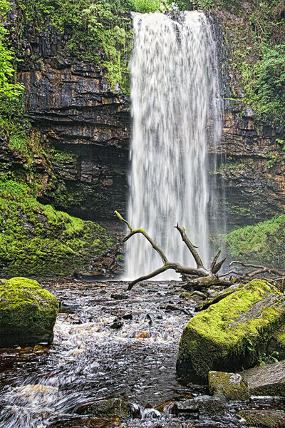 Henrhyd Falls Stone