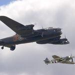 Lancaster & Spitfire