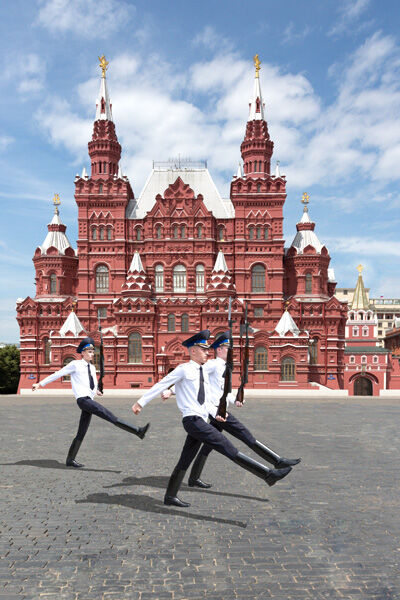 Red Square Guards