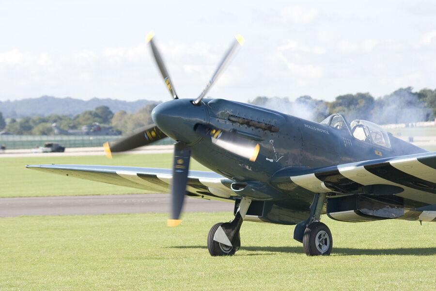 Spitfire Starting Up