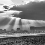 Storm Over Kirkjufjara