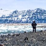 Watching Icebergs at Jokulsarlon