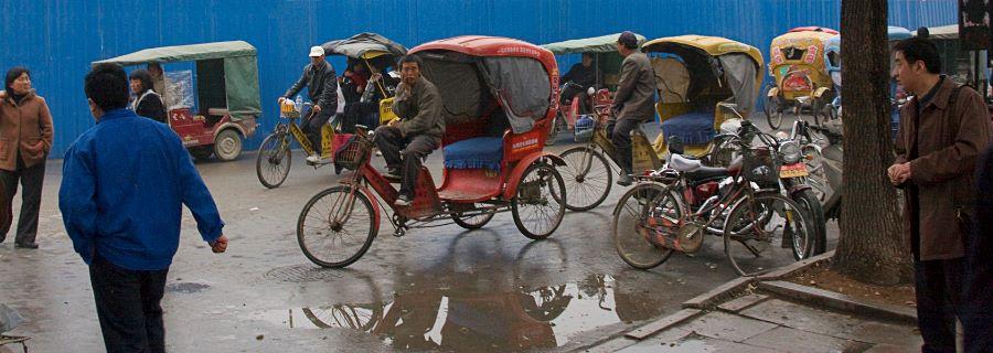 Watching The Rickshaw