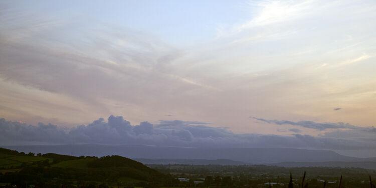 IMG 0131 Late Afternoon Sky Panoramic