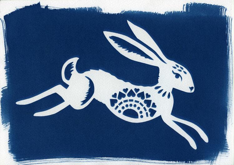 Running Hare B