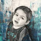 Acrylic Portrait Paintings