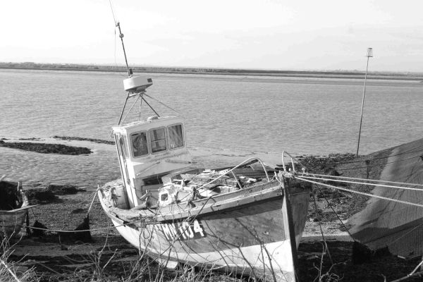 fishing boat foulness island 2008