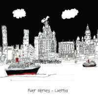 River Mersey - Liverpool (square)