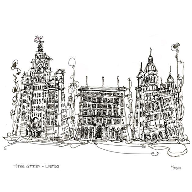 Three Graces - Liverpool