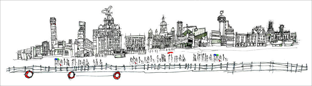 Waterfront - Liverpool (white)