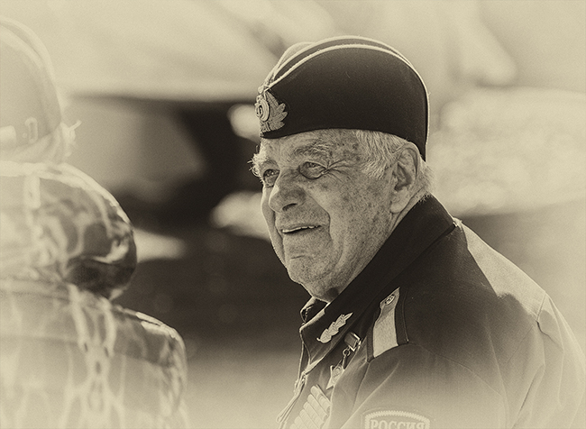 WW II Russian sailor