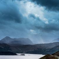 Drama over Loch Maree