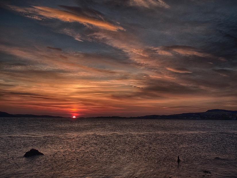 Sunset Loch Ewe
