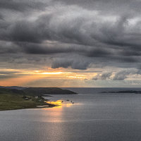 Sunset over Loch ewe