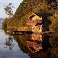 Ullswater boathouse